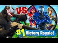 The SUPER VILLAIN CHALLENGE In Fortnite Battle Royale!