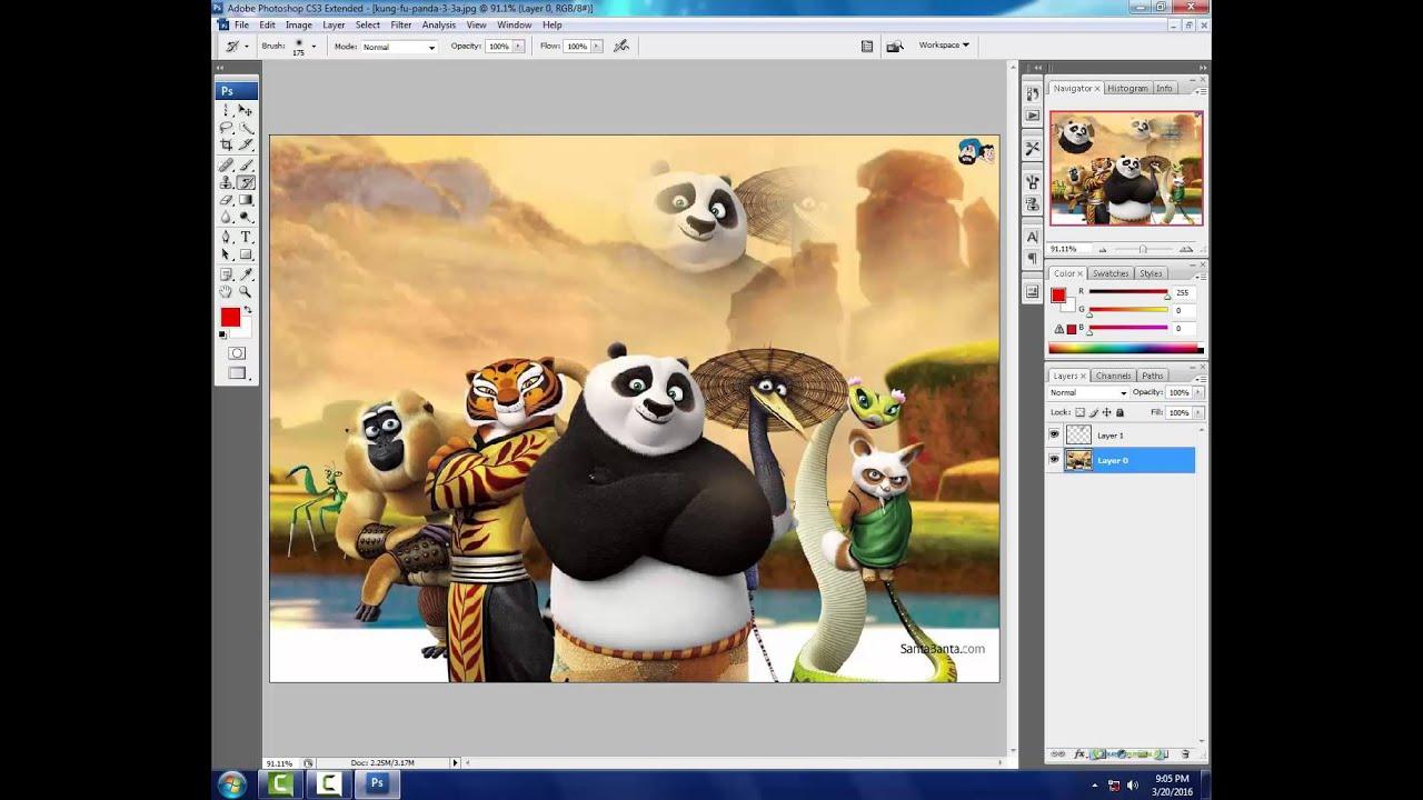 Photoshop Cs3 Tutorials Photo Effects In Hindi - Photoshop