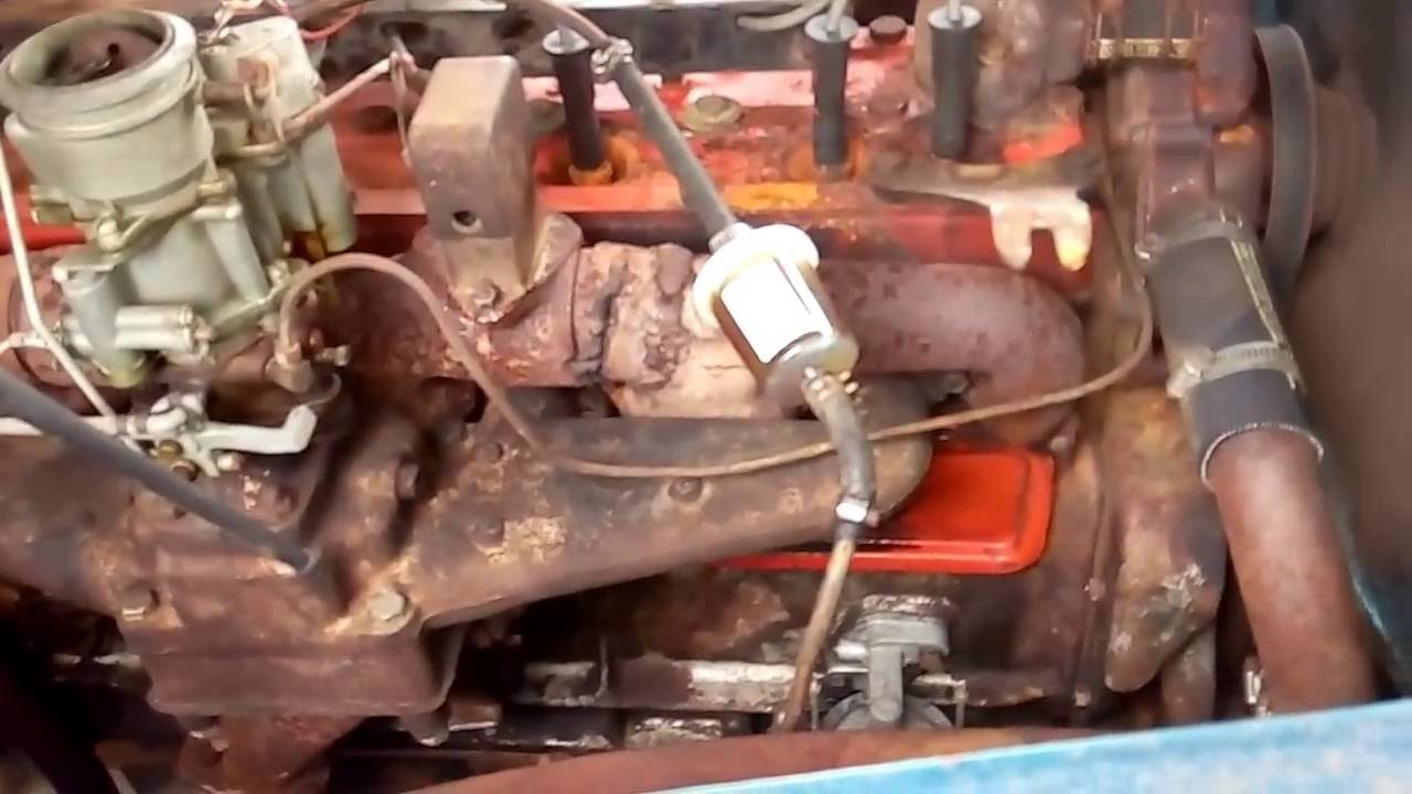 1948 Chrysler New Yorker Straight 8 Cylinder Engine Running Youtube Windsor Wiring Diagram