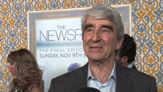 The Newsroom Final Season: Sam Waterston Exclusive Premiere Interview