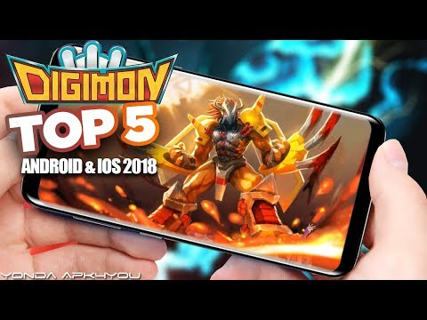 Top 5 Digimon Games June 2018 - Android IOS Gameplay