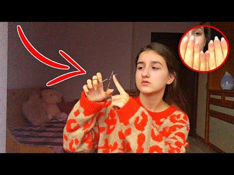 Длинные ногти портят ей жизнь