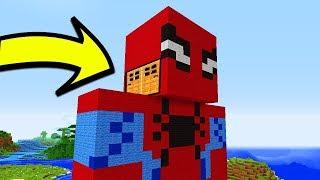 ДОМ ВНУТРИ ЧЕЛОВЕКА ПАУКА В Майнкрафте! Minecraft Мультики Майнкрафт троллинг Нуб и Про