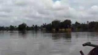 Boat ride on the Sarawak River in Kuching Malaysia Sarawak