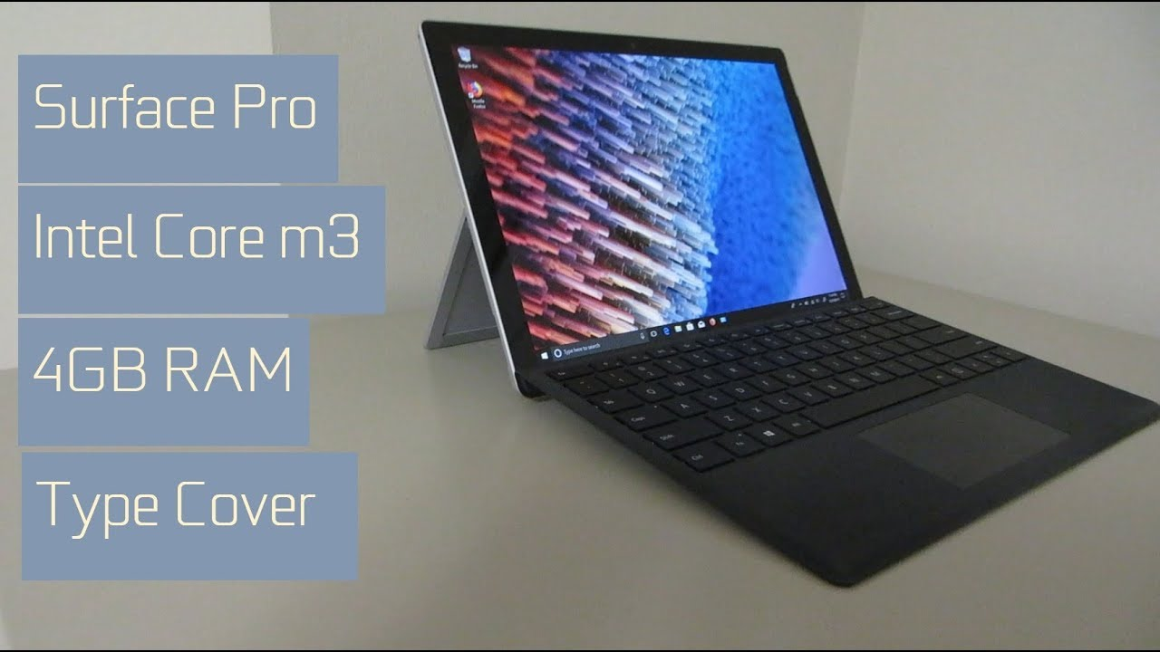 microsoft surface pro intel m3 4gb unboxing and review youtube. Black Bedroom Furniture Sets. Home Design Ideas