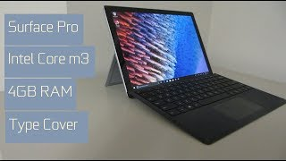 Microsoft Surface Pro Intel m3 4GB Unboxing and Review