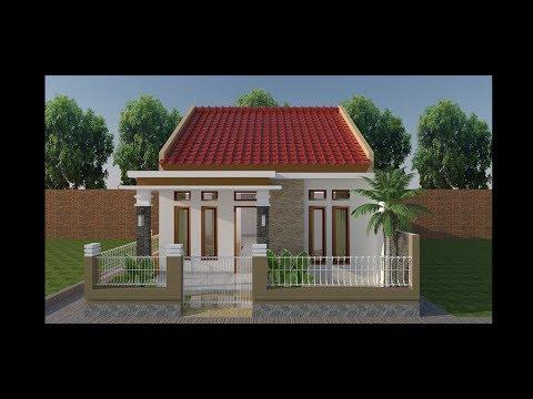 desain rumah sederhana minimalis 6x10 - youtube