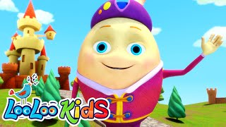 Humpty Dumpty - THE BEST Songs for Children   LooLoo Kids