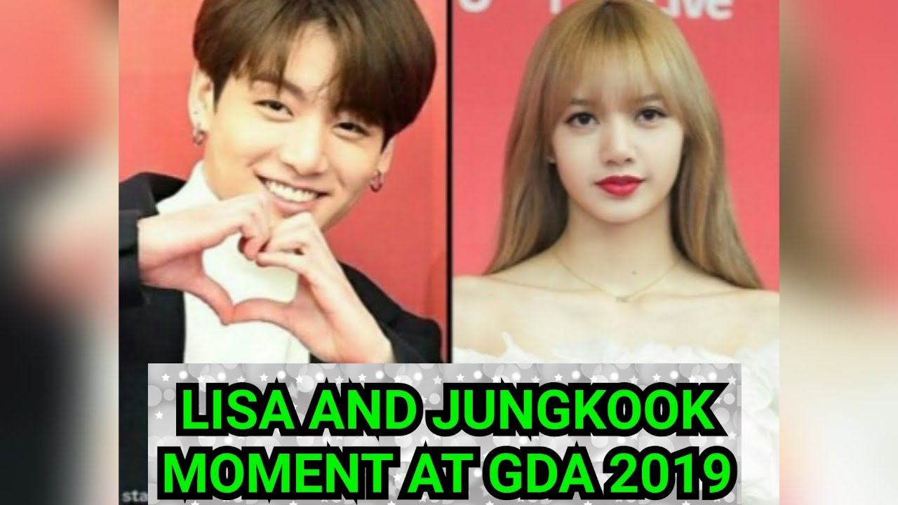 LIZKOOK MOMENTS | GDA 2019 방탄소년단 JUNGKOOK (정국) AND LISA (블랙 핑크) MOMENTS