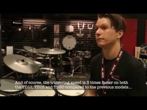 Roland V-drums at work with Baard Kolstad - interview (texted)