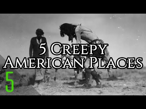 5 Mysterious Unexplained Places in North America