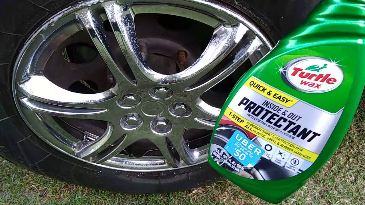 Turtle Wax Inside And Out Protectant Spray Test Review Youtube
