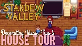 Tour of my House in Stardew Valley