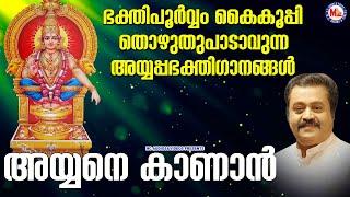 ഭക്തിപൂർവ്വംകൈകൂപ്പി തൊഴുതു പാടാവുന്ന അയ്യപ്പഭക്തിഗാനങ്ങൾ   Ayyappa Songs Malayalam   New Devotional