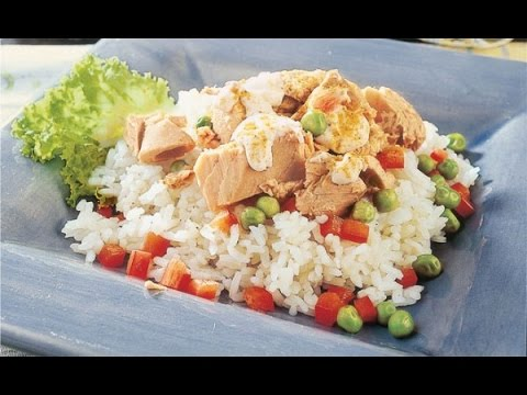 Arroz con tuna receta