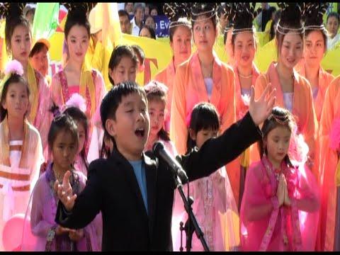 FALUN GONG - CELEBRATING FALUN DAFA DAY 23rd ANNIVERSARY SYDNEY AUSTRALIA 09/05/2015