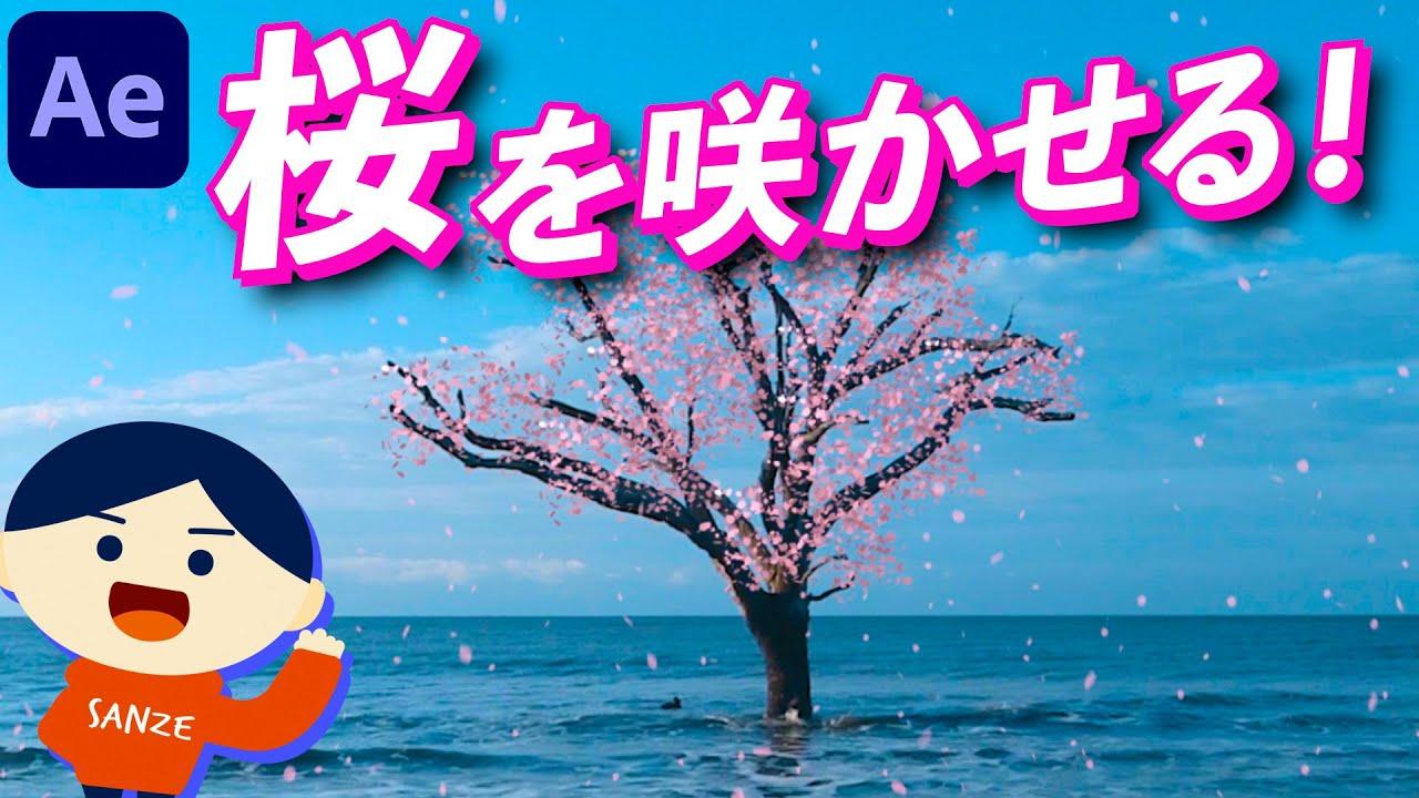 【082】Particularで花を咲かせる方法!桜を講座④