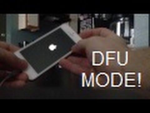 How to enter DFU Mode on iPhone 6S 6S+ (6 5S 5C 5 4S, 4, 3GS, 3G, 2G) iPad, iPod, Touch & iPad Air 2