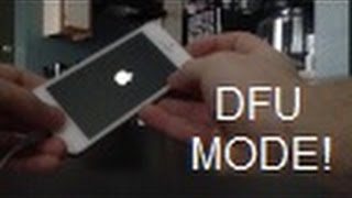 How to enter DFU Mode on iPhone 7 7+(6S 6S+ 6 5S 5C 5 4S, 4, 3GS, 3G, 2G) iPod, Touch & iPad Air 2