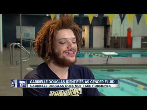 Gender fluid diver gets support from teammates at John Carroll University