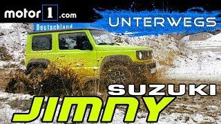 Darum ist er großartig! Suzuki Jimny | UNTERWEGS mit Daniel Hohmeyer