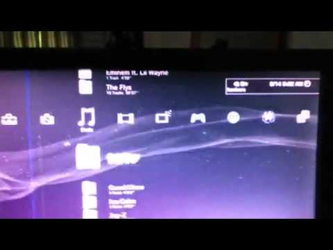 How to download free music onto PS3