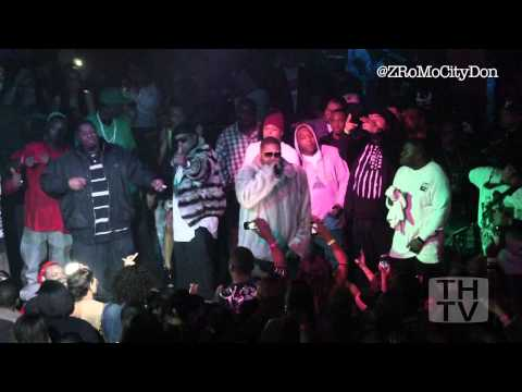 Z-Ro performs Mo City Don freestyle at his G-Day bash