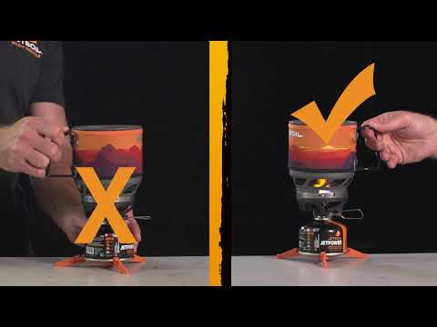 How NOT to Use Your Jetboil Stove