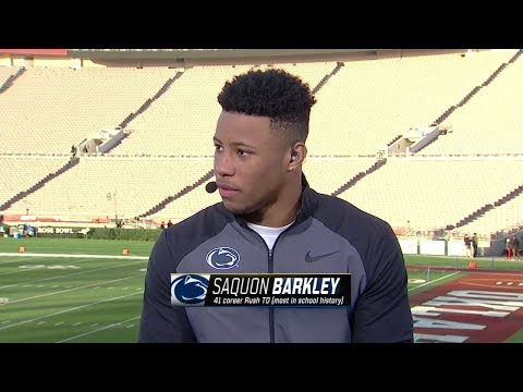 Saquon Barkley wants to be remembered as one of the best at Penn State | ESPN