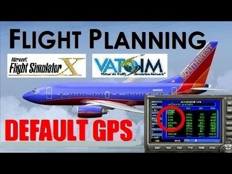 How to Fly on VATSIM Without an FMC (Use Default GPS!)