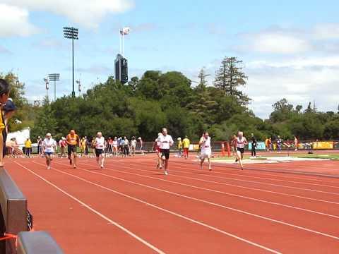 100 M Run-Palo Alto National Senior Games