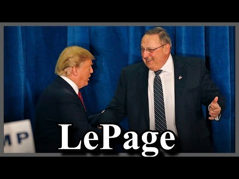 Governor LePage Introduces Donald Trump in Maine Bangor
