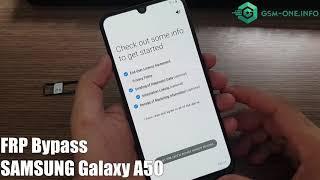 Mở khóa By Pass tài khoản GOOGLE trên samsung A50 mới 2019