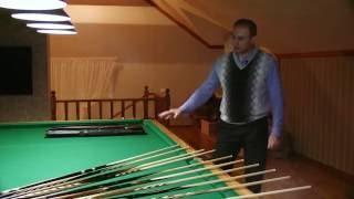 видео Ремонт бильярдных столов в Москве