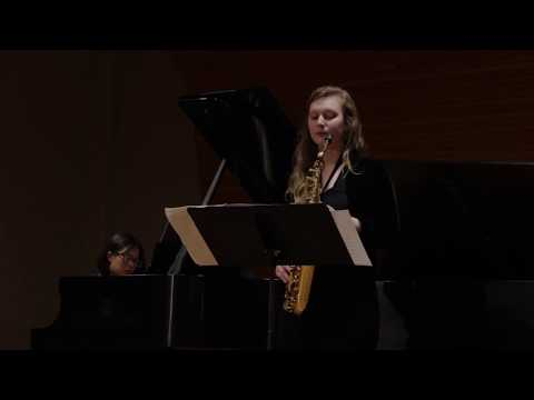 Paul Bonneau's Concerto for Alto Saxophone Mvmt. 1