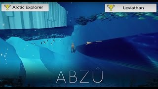 ps4 abzu arctic explorer and leviathan trophies