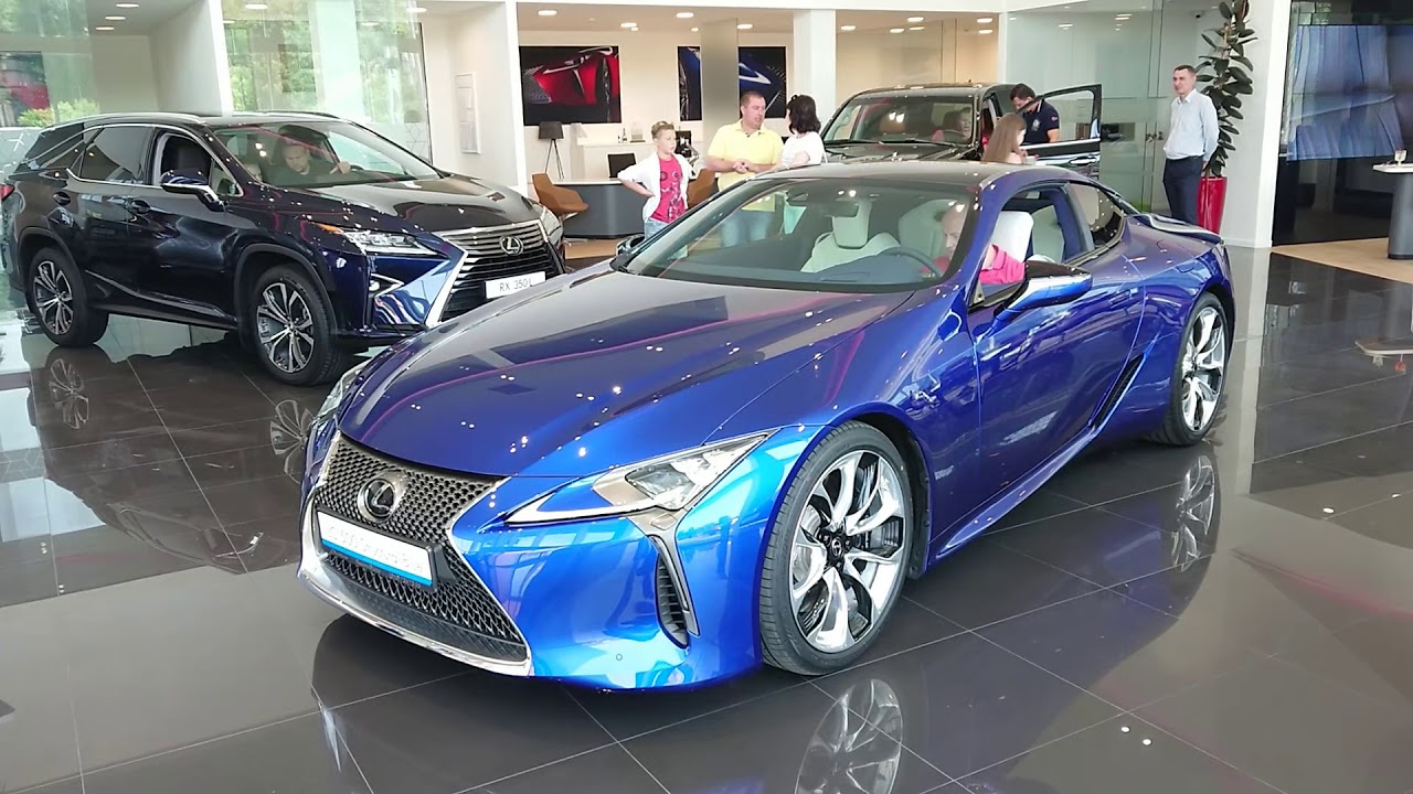 Lexus Lc500 Structural Blue V Odesse Youtube