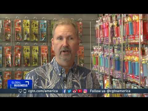 Thousands of Pez dispensers collected at California museum
