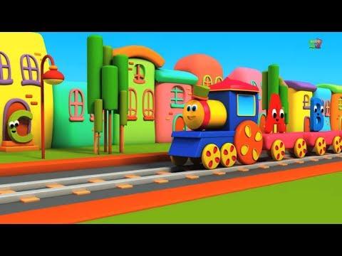 Bob il treno | alfabeti avventura | impara abc in italiano | Bob Train | Bob Alphabet Adventure