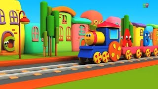Bob il treno | alfabeti avventura | impara abc in italiano | Bob Train | Bob Alphabet Adventure