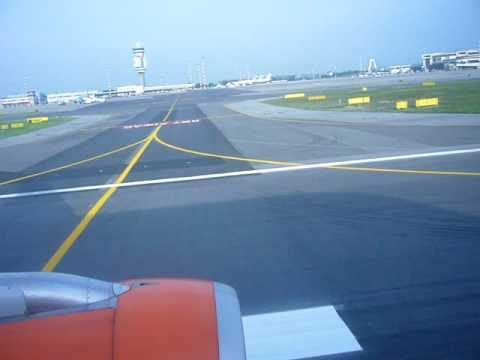 Easyjet take-off from Milano Malpensa LIMC