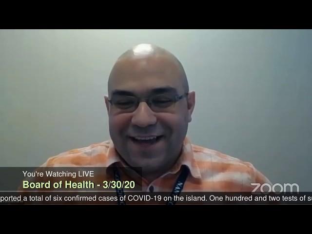 Nantucket Board of Health (Read Description) - 3-30-20