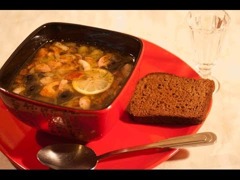 суп солянка мясная рецепт с фото пошагово