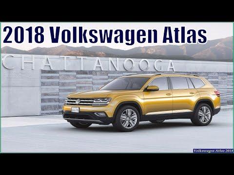 VW Atlas 2018 - New 2018 Volkswagen Atlas SEL Review And Specs