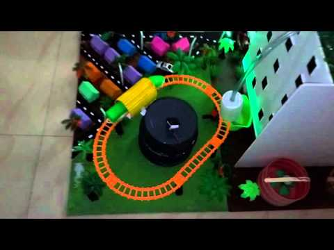 Smart city working model - Green Building Working model - Science Projects