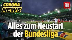 Das große Comeback der Bundesliga startet ab 9. Mai