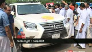 Gulf Malayali team travelled Jeddah to Malappuram by road: Gulf News