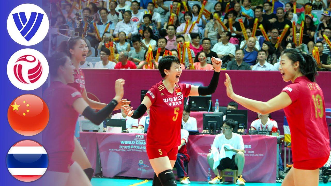 China vs. Thailand - Full Match | Women's Volleyball World Grand Prix 2016