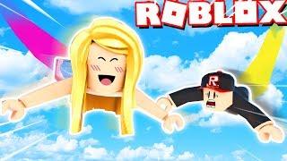 POWIETRZNE OBBY W ROBLOX?! ✈️ (Roblox Free Falling Simulator) | Bella i Vito