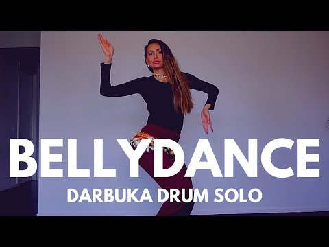 DARBUKA BELLYDANCE  | DRUM SOLO | ZUMBA | Weight Loss Dance Fitness | MISS BELLYSTAR By Meesha Ali